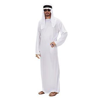 Arabische Sheik kostuum-wit