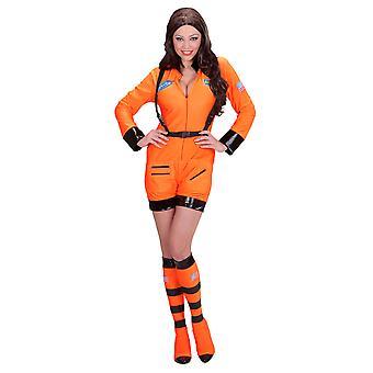 Oranje ASTRONAUT LADY (jumpsuit boot covers)
