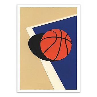 Art-Poster - Oakland Basketball Team Versie 2 - Rosi Feist