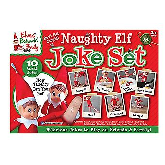 Elfek Behavin rosszul Naughty elf vicc set-10 db