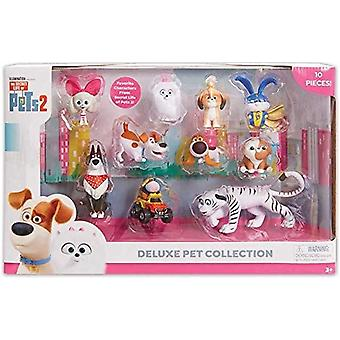 Geheimes Leben der Haustiere 2 Figur 10pk Sammler Set Spielzeug
