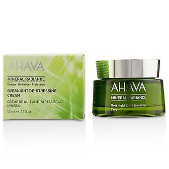 Ahava Mineral Radiance Overnight De-Stressing Cream 50ml/1.7oz