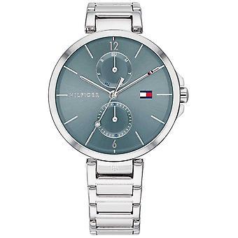 Tommy Hilfiger | Angela | Roestvrijstalen armband | Blauwe wijzerplaat | 1782126 Horloge
