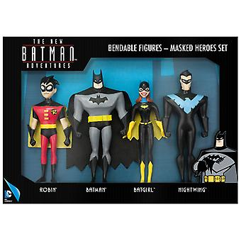 Action Figures - The New Batman Adventures - Masked Heroes Set New dc-3956