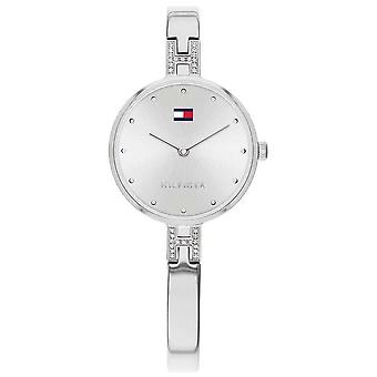 Tommy Hilfiger   Women's Kit   Stainless Steel Bracelet   Silver Dial   1782137 Watch