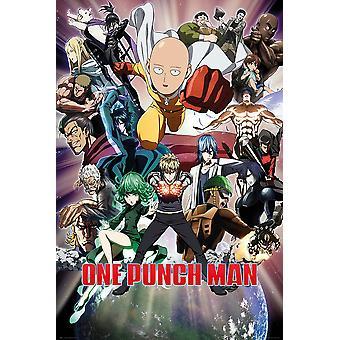 Poster - Studio B - One Punch Man 36x24