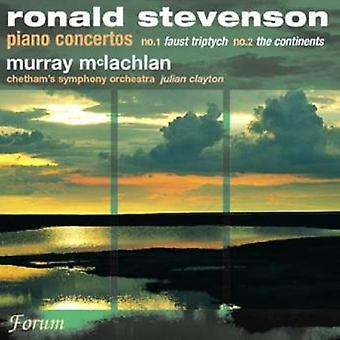 McLachlan Chetham Symphony - Ronald Stevenson: Piano Concertos No. 1 Faust Triptych,  No. 2 the Continents [CD] USA import