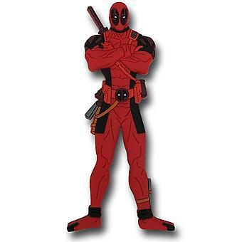Deadpool seisomaan pehmeä kosketus magneetti
