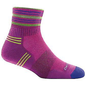 Darn Tough Clover Womens Vertex 1/4 Ultra Light Cushion Sock