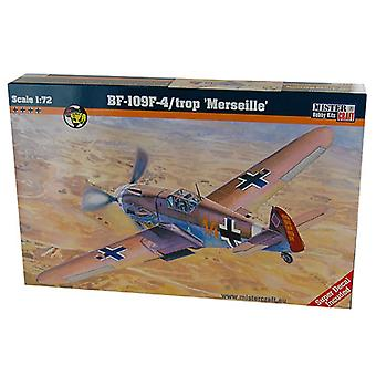 Mister Craft 1:72 Messerchmitt BF-109 F-4/Trop 'Merseille'