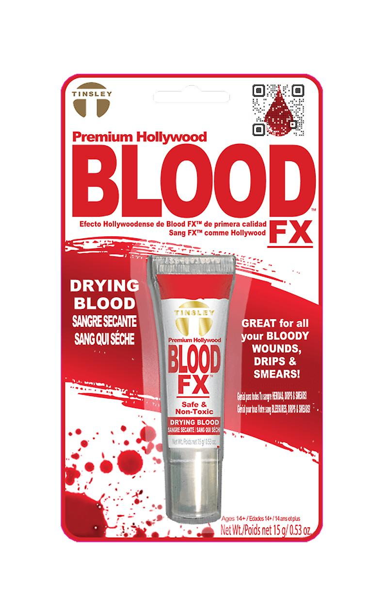 Red Drying Stage Blood Fancy Dress Costume Accessory