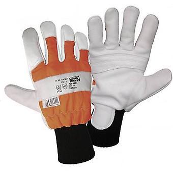 L+D worky Dachs-FORST 1604 Full-grain cowhide Foresters gauntlet Size (gloves): 9, L EN 388 , EN 381/7 CAT II 1 Pair
