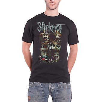 Slipknot Mens T Shirt Black Creatures band logo Official