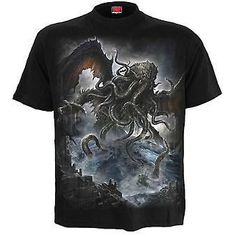 Spiral Cthulhu T-Shirt