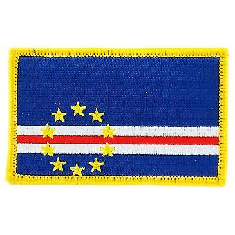 Patch Ecusson Brode groene Cape vlag verdien Thermocollant insigne Blason