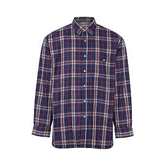 Champion Mens Stroud Country Fleece vuorattu pitkähihainen paita