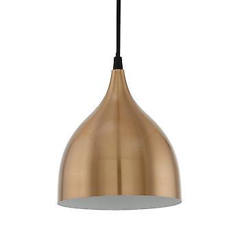 EGLO Coretto kopparfärgad stål hänge ljus