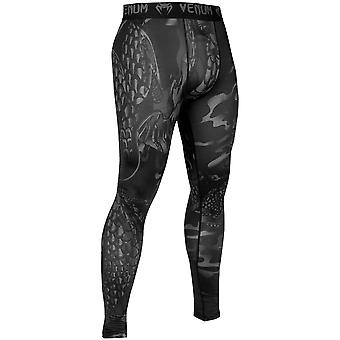 Venum Dragon's Flight Compression Spats - Black/Black