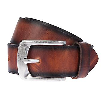 BERND GÖTZ belts men's belts leather walking leather belt Cognac 633