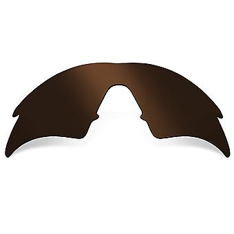 SEEK Replacement Lenses Compatible for Oakley M Frame Sweep Polarized Brown