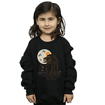 Star Wars Girls Halloween AT AT Sweatshirt
