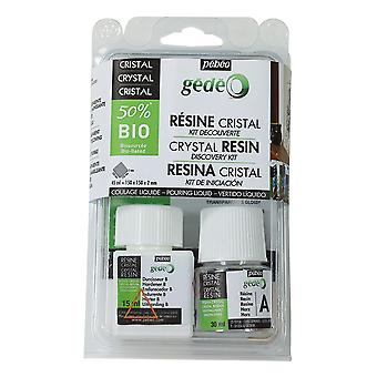 Pebeo Gedeo 50% Bio Crystal Resin Discovery Set