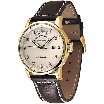Zeno-Watch Men's Watch Magellano Big 18ct gold 6069DD-GG-f2