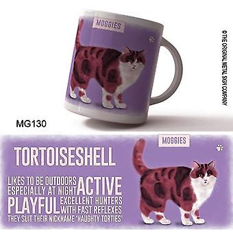 Retro Ceramic Mug - Tortoiseshell by The Original Metal Sign Co