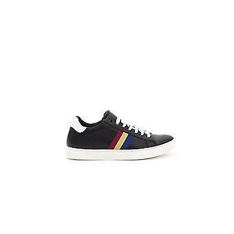 Black castelbajac men's sneakers