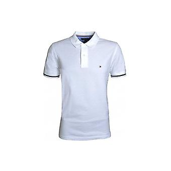 Tommy Hilfiger Men's Tommy Hilfiger Bright White Polo Shirt