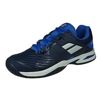 Babolat Propulse All Court Junior Kids Tennis Trainers / Shoes - Dark Blue