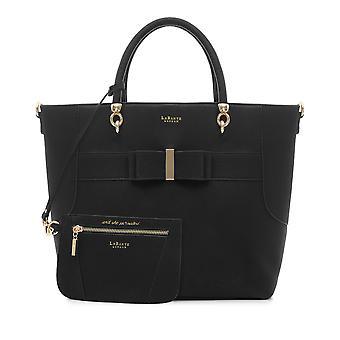 Ally Vegan Black Tote Bag