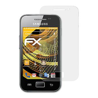 atFoliX Glass Protector compatible with Samsung Galaxy Ace GT-S5830i 9H Hybrid-Glass