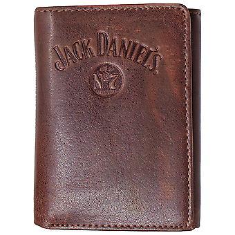 Jack Daniels Brown Old No. 7 Tri-Fold Wallet