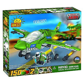 Small Army 150pc Falcon Plane Military Aircraft Construct St