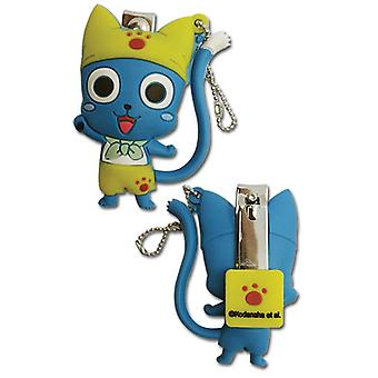 Key Chain - Fairy Tail - New Happy w/ Nail Clipper Anime Licensed ge37286