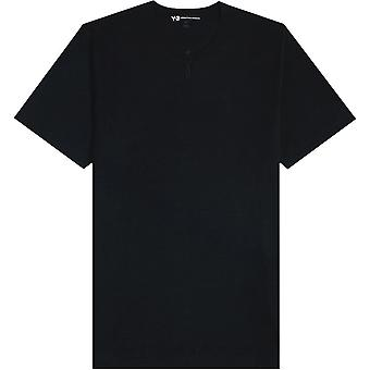 Y-3 Y3 Zipped Henley T-Shirt