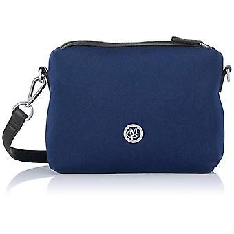 Marc O'Polo 90818320701601 Bolso de hombro azul para mujer (azul (verdadero azul (azul (verdadero azul marino 884)) 11x16,5x23 cm (B x Al x T)