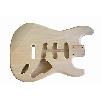Hosco 2 Piece Alder Unfinished And Unsanded Stratocaster Replacement Body