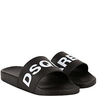 Dsquared2 DSquared2 Logo Sliders Black