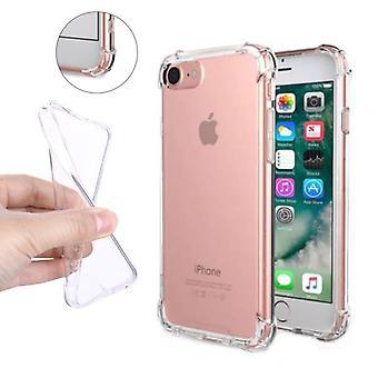Stuff Certified® Transparent Clear Bumper Case Cover Silicone TPU Case Anti-Shock iPhone 6S Plus