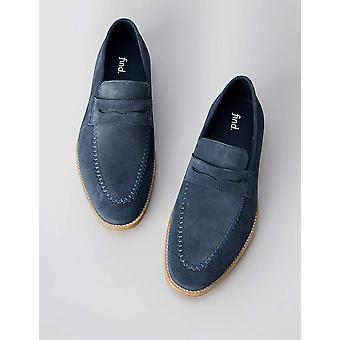Amazon Brand - find. Men's Leather Suede Loafer