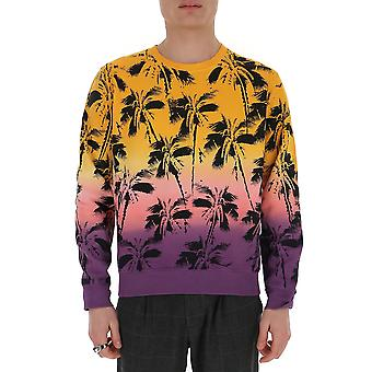 Saint Laurent 603302yboy27269 Männer's Multicolor Baumwoll-Sweatshirt