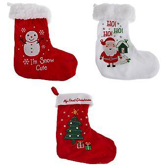 Nursey Time Baby Boys/Girls Christmas Stocking