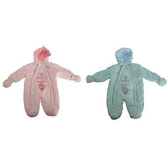 Nursery Time Baby Boys/Girls Sweet As Honey All In One Hooded Winter Snowsuit