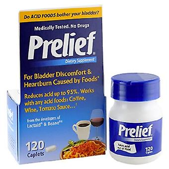 Prelief acid reducer dietary supplement, caplets, 120 ea