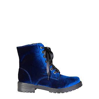 Ana Lublin Eredeti Nők őszi / téli boka boot - kék szín 30284