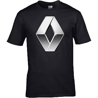 Renault Logo - Bilmotor - DTG Trykt T-skjorte