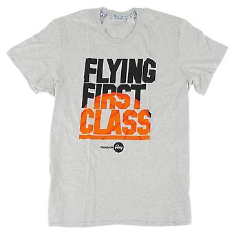 Reebok Classic Flying 1ST Graphic Z94437 universal summer men t-shirt