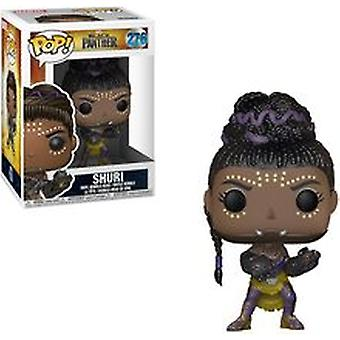 Funko Pop Marvel: Black Panther Shuri Collectible Figure + Pop Protector